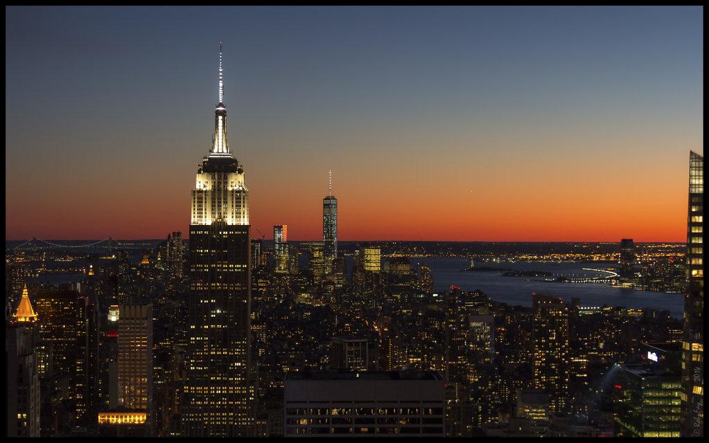 New York at Twilight